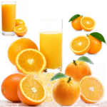 Sinaasappelsap vers getapt