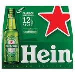 Heinek Pils mono      12-pack.