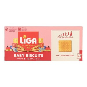 Liga Baby biscuits 6-12m