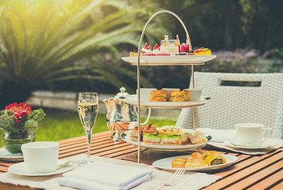 High tea arrangement