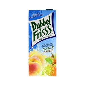 DubbelFrisss Appel/perzik 1500ml
